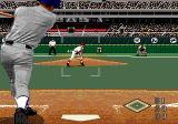 World Series Baseball 98 Genesis Incoming throw