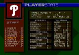 World Series Baseball 98 Genesis Player statistics