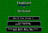 International Rugby Genesis Match screen