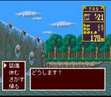 Princess Maker: Legend of Another World SNES Nice waterfall