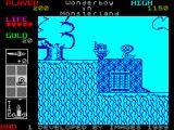Wonder Boy in Monster Land ZX Spectrum Kill him.