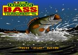 TNN Outdoors Bass Tournament '96 Genesis Title screen