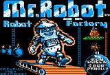 Mr. Robot and His Robot Factory Apple II Title Screen