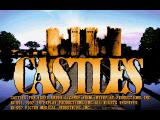 Castles FM Towns English title screen