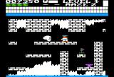 Trolls and Tribulations Apple II Maze two adds skulls and a trickier layout.