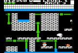 Trolls and Tribulations Apple II Maze three has a sewer look to it.