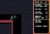 Temple of Apshai Trilogy Apple II Killed by a Jackal in the Curse of Ra dunjon. (double hi-res graphics mode)
