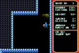 Temple of Apshai Trilogy Apple II Oh no a swamp rat! (double hi-res graphics mode)