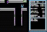 Temple of Apshai Trilogy Apple II Escaped the bats only to encounter an Antman. (normal hi-res graphics mode)