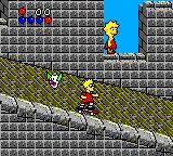 The Simpsons: Bart vs. the World Game Gear The Great Wall of China