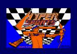 Hyper Sports Amstrad CPC Loading screen.