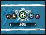 Zeebo F.C. Super League Zeebo Main menu.