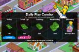 The Simpsons: Tapped Out iPhone If you visit Springfield daily, you can earn some cash