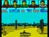 Power Drift ZX Spectrum Round the bend.