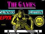 The Games: Summer Edition ZX Spectrum Loading screen.