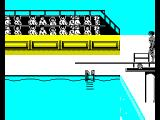 The Games: Summer Edition ZX Spectrum Diving.