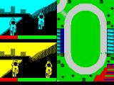 The Games: Summer Edition ZX Spectrum The Velodrome.