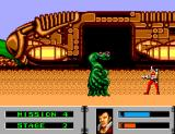 "Alien Storm SEGA Master System ""It can't be. I just shot you dead"""