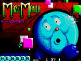 Maze Mania ZX Spectrum Loading screen.