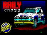 Rallycross Simulator ZX Spectrum Loading screen.