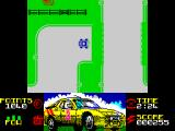 Rallycross Simulator ZX Spectrum Racing action.