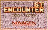 Encounter! Atari ST Title screen.