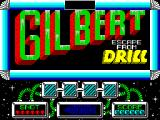 Gilbert: Escape from Drill ZX Spectrum Title screen.