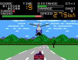 Chase H.Q. II: Special Criminal Investigation SEGA Master System Don't shoot the helicopter. It's trying to help you