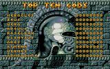 Gods DOS Top Ten Gods (Scores) (VGA)