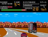 Chase H.Q. II: Special Criminal Investigation SEGA Master System Lorry approaching...