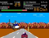 Chase H.Q. II: Special Criminal Investigation SEGA Master System Shoot the helicopter