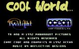 Cool World Commodore 64 Title screen
