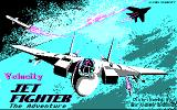 JetFighter: The Adventure DOS Title screen (CGA)