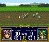 Der Langrisser SNES First hero massacres enemy