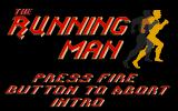 The Running Man Atari ST Title screen.