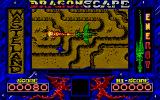 Dragon Scape Atari ST Blast the enemy.
