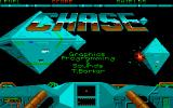 Chase Atari ST Title screen.