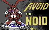Avoid the Noid Commodore 64 Title screen