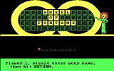 Wheel of Fortune: New Second Edition DOS Enter Name