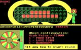 Wheel of Fortune: New Second Edition DOS Hit any key to start round