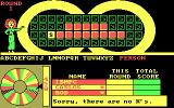 Wheel of Fortune: New Second Edition DOS There is no 'K'