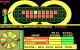Wheel of Fortune: New Second Edition DOS Lose your turn