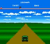 The Adventures of Bayou Billy NES Start of drivin level