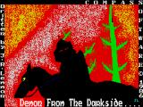 Demon from the Darkside ZX Spectrum Loading screen.