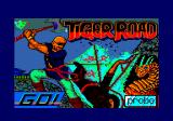 Tiger Road Amstrad CPC Loading screen.