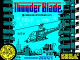 ThunderBlade ZX Spectrum Loading screen.