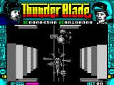 ThunderBlade ZX Spectrum Blasting action.