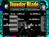 ThunderBlade ZX Spectrum Behind the 'copter.