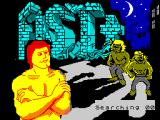 Exploding Fist + ZX Spectrum Loading screen.