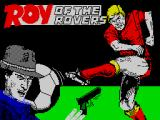 Roy of the Rovers ZX Spectrum Loading screen.